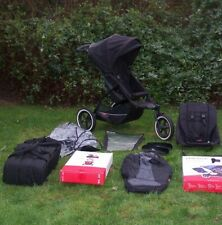 PHIL AND TEDS EXPLORER DOUBLE BUGGY BLACK PLUS ACCS]]