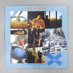 """Jimi Hendrix - Crosstown Traffic - EX / EX - UK - 12"""" Vinyl Single - PZ 71"""