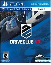 Driveclub Vr Video Game PS4