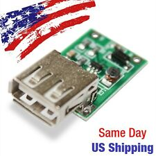USB Type A 5V 600mA Charger Module 0.9V-5V DC-DC Converter Boost Step Up USA!