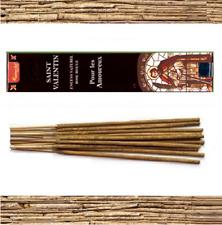 Encens  SAINT VALENTIN Boîte 15g Vedic Aromatika BATONS ROSE ROUGE AMOUR