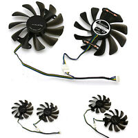 GPU Cooling Fan Graphics Card for ZOTAC GeForce GTX 1080 1070 AMP Accessories