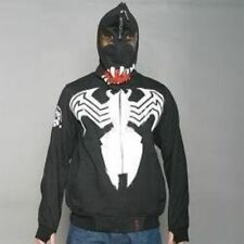 Men's CLH Venom Spiderman Black Hoodie Sz XL FITS LIKE LARGE.