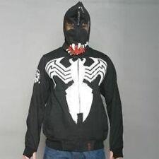Men's CLH Venom Spiderman Black Hoodie Sz XL FITS LIKE LARGE.