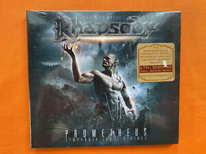 Luca Turilli's Rhapsody ‎– Prometheus ... digipak CD album (new & sealed)