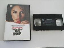 WOMAN ON TOP VHS COLECCIONISTA EDICION ESPAÑOLA PENELOPE CRUZ