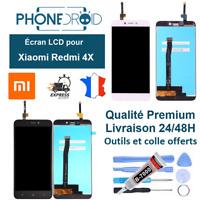 Écran complet LCD + tactile Xiaomi Redmi 4X + Outils et colle, stock FR