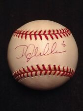 Doug Glanville Signed Autographed Major League Baseball Single Auto GO PHILLIES