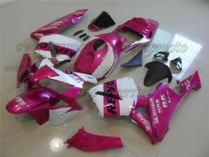 Injection Pink White ABS Fairing Bodywork Kit Fit for 2003-2004 CBR 600RR F5 aBC