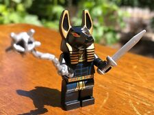 LEGO PHARAOH'S QUEST ANUBIS GUARD GENUINE 100% CORRECT PART MINIFIGURE SET# 7327