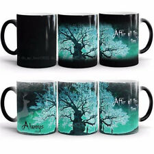 Harry Potter Always Color Change Green Magic Heat Sensitive Tea Coffee Mug Cup