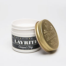 Layrite Cement Hold Pomade Super Hair Styling haircare Product 4oz Gel