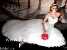 MARYS BRIDAL $1499 NEW 12 l;T IVORY CINDERELLA PRINCESS WEDDING DRESS BALL GOWN