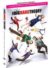 THE BIG BANG THEORY 11 LA STAGIONE UNDICI COMPLETA (3 DVD) SERIE TV ITALIA