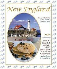 New England Bed and Breakfast Cookbook Hardcover Spiral-Bound Recipes 2007 NEW