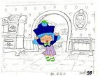 STRAWBERRY SHORTCAKE ANIMATION CEL FROM 1980'S PRODUCTION SBSC-043   RARE HTF