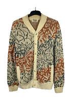 Missoni Uomo Vintage Men's Cardigan Multicolored Size M