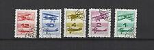 aérien histoire de l'aviation Hongrie 1988 une série de 5 timbres / T1651