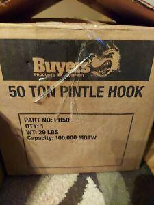 Buyers Pintle Hook, 50 Ton - PH50