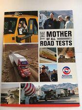 "Allison Transmission Brochure ""the Mother Of All Road Tests"""