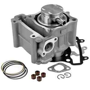 Cylindre complet fonte D.52,4 YAMAHA XMax 125 X-Max WR YZF R YZF-R piston NEUF