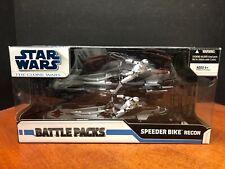 Star Wars Clone Battle Packs Speeder Bike Recon (One Damaged Bike) EM4676