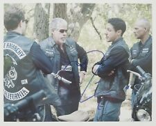 """Theo Rossi Signed 8x10 Photo """"Juice"""" on Sons Of Anarchy Inscription Luke Cage"""
