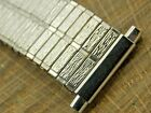NOS JB Champion Vintage Unused Expansion Stainless Steel Watch Band 17.5mm-22mm