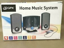 ⭐ GPX HM3817DTBK Compact Disc Home Music System with AM/FM Stereo Radio NEW ✅❤️️
