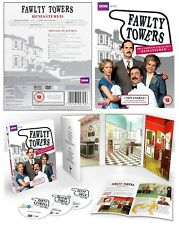 FAWLTY TOWERS 1+2 (1975 + 1979) - Remastered COMPLETE TV Series - NEW DVD UK