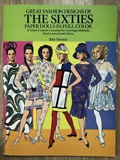 Vintage Tom Tierney Paper Dolls Great Fashion Designs Of The Sixties Uncut