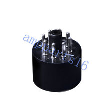 1pc 12AX7 12AU7 to 6SN7 6SL7 Tube Adapter Converter Socket For 9pin to 8pin tube