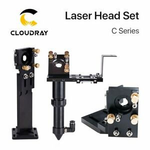 C Series: CO2 Laser Head Set Mount Focal Lens Si/Mo Mirrors for Engraver Cutter