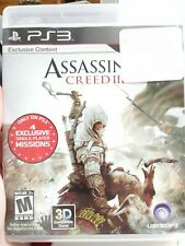 Assassin's Creed III - PS3 Exclusive (Sony PlayStation 3, 2012) 3D Compatible