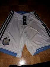 S Neuf Retro Maillot Match Shiny Adidas Vintage Short Argentina Blanc T