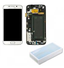 Display Lcd Touch Originale Samsung Galaxy s6 EDGE g925f Bianco SM-G925F