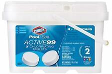 "New listing Clorox Pool&Spa Active99 3"" Chlorinating Tablets 5 lb"
