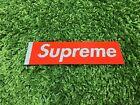 Supreme S/S 2016 Glitter Box Logo Sticker Red