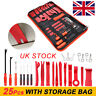 UK 25× Car Door Molding Dash Panel Audio Seal Interior Trim Removal Pry Tool Kit