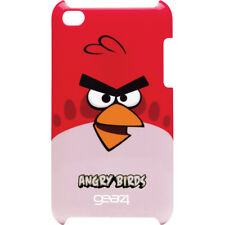 ANGRY BIRDS Clip-On HARD SHELL CASE COVER FOR IPOD TOUCH 4G RED 4TH GENERATION