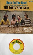 THE LOVIN' SPOONFUL  Rain On The Roof  rare 45 with PicSleeve from 1966