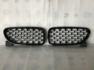 MIT Front Kidney Diamond Grille Glossy Black FOR '2012-'2017 BMW F06 F12 F13
