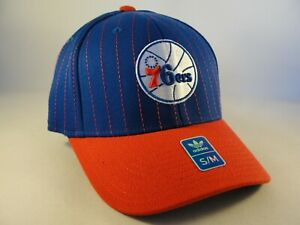 Philadelphia 76ers NBA Adidas Flex Hat Cap Size S/M Blue Red
