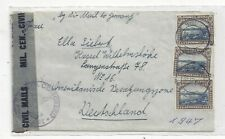 South West Africa SWA 1947 Censor Cover to Germany, US Sector