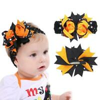 Kids Baby Headband Toddler Bow Halloween Hair Band Accessories Headwear
