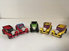 Tonka Tiny-Tonka Lot Of 5