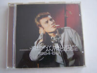 CD JOHNNY HALLYDAY REMASTERISE , ANTHOLOGIE 1964 - 1966 , 22 TITRES . BON ETAT .