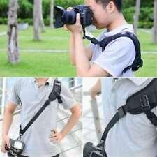 Focus F-1 Quick Rapid Shoulder Sling Belt Neck Strap For DSLR SLR Camera Black
