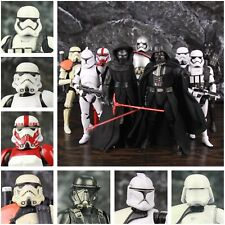 """Star Wars 6"""" Action Figure First Order Ren Phasma Vader Storm & Clone Troopers"""