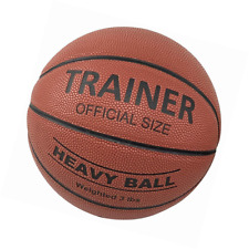 Trainer Heavy Weighted Indoor Basketball | Sports Training Aid Moisture Absorbin